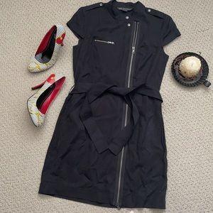 A/X Armani Exchange Moto Zipper Dress